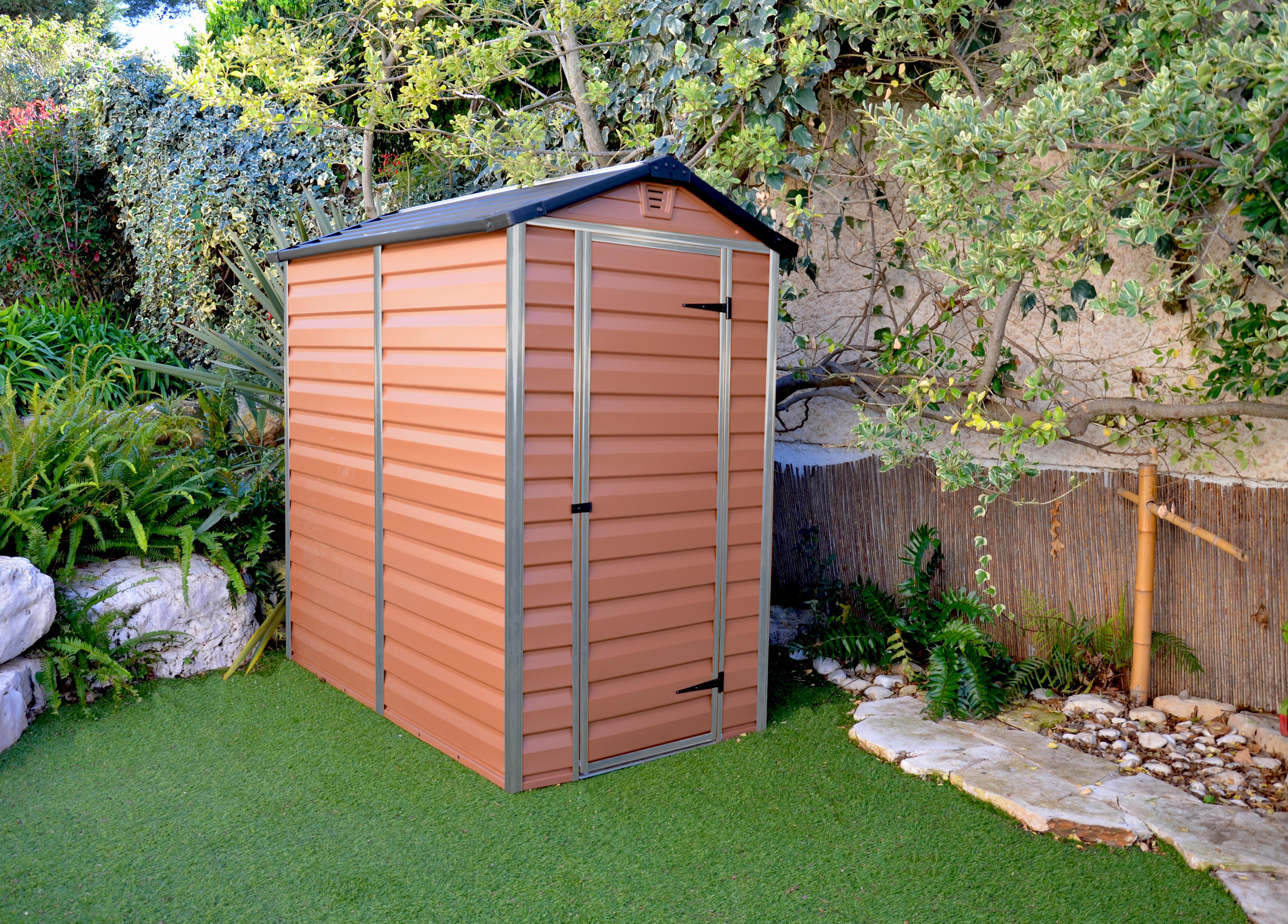 zahradní domek Palram Skylight 4x6 hnědý
