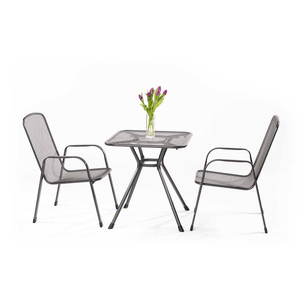 zahradní sestava (2x židle Savoy Basic, 1x stůl Tavio) Garland Sabi 2+