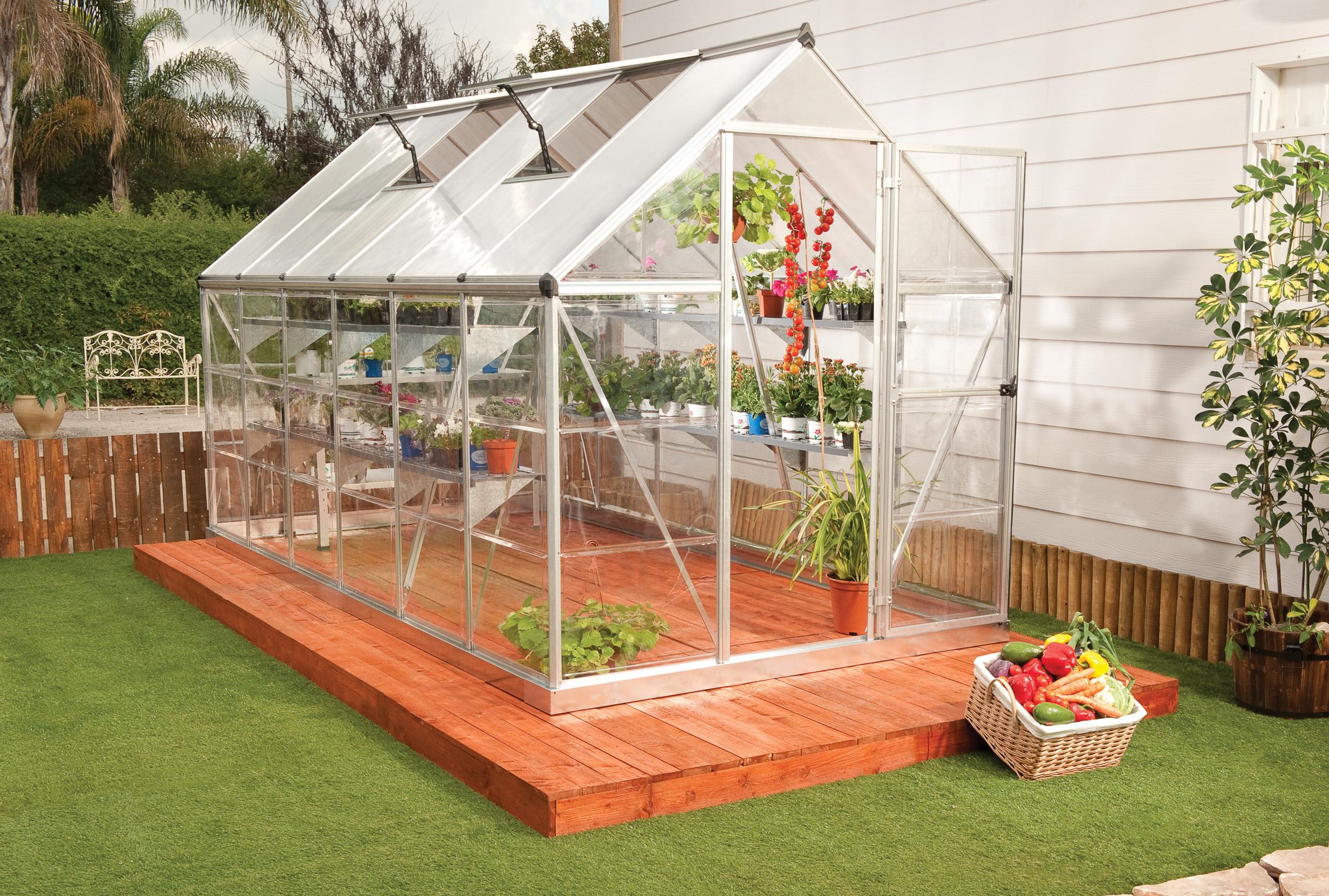 polykarbonátový skleník Palram hybrid 6x12