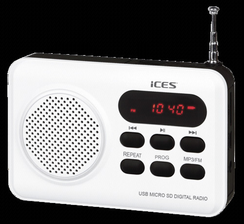 LENCO ICES IMPR 112 WHITE RADIO S CD
