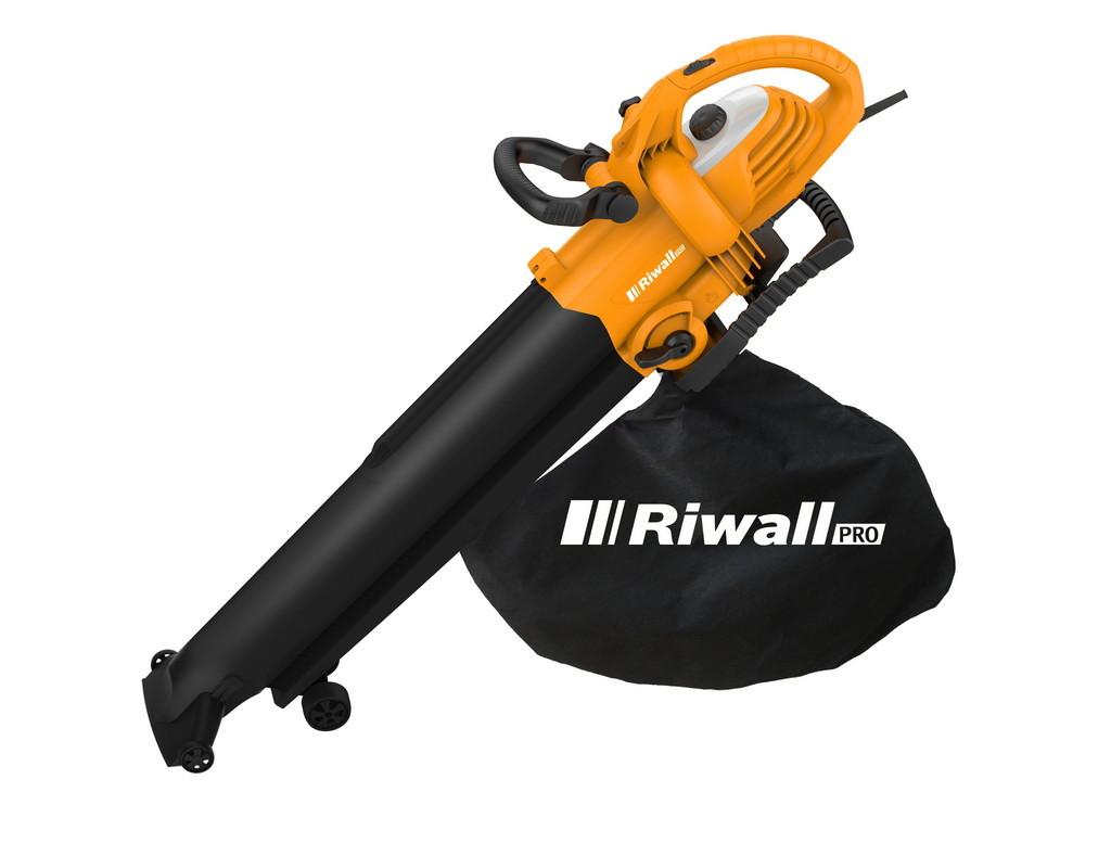 vysavač/foukač s elektrickým motorem 3000 W Riwall PRO REBV 3000